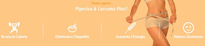 Come funziona per dimagrire Piperina e Curcuma Plus