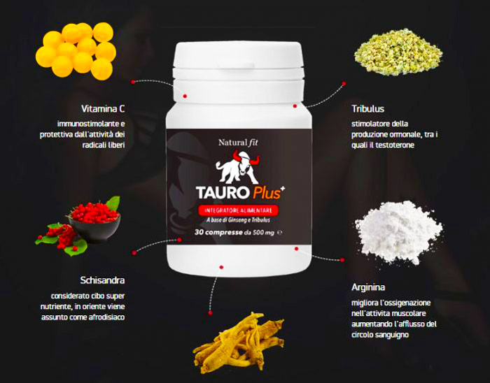 Tauro Plus Ingredienti
