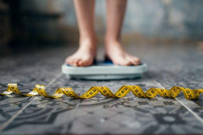 la bilancia per la dieta