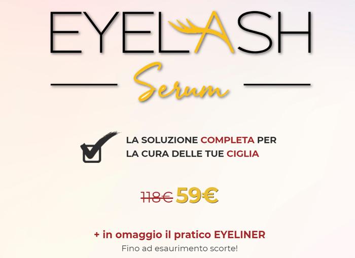Prezzo di Eyelash Serum