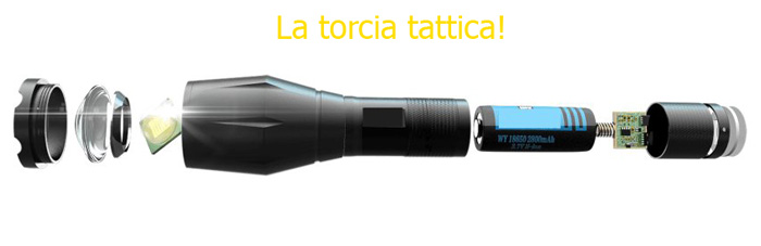 Torcia X Light