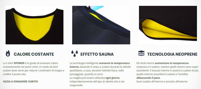 Come funziona Xpower sportwear