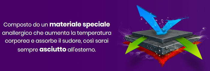 Maglia termica Xpower Sportwear