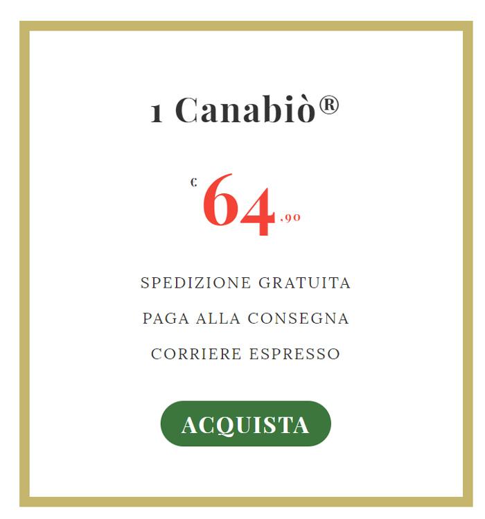 Prezzo di Canabio