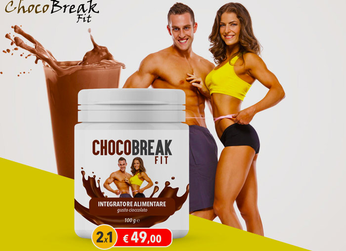 Integratore chocobreak fit