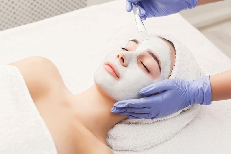peeling chimico viso