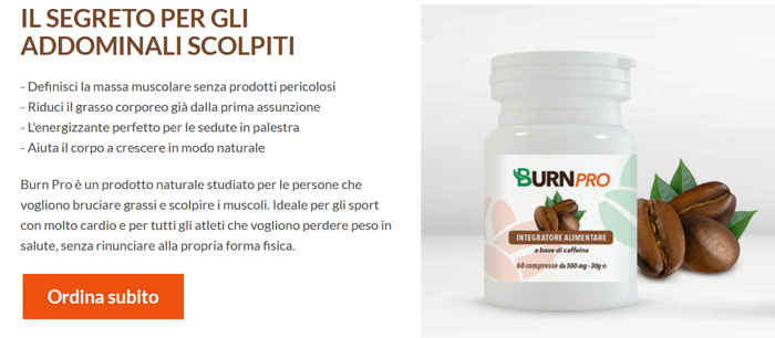 Benefici di BurnPro