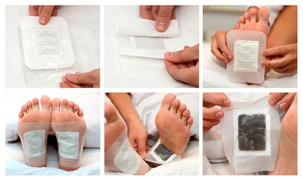 Come utilizzare i cerotti di sale Detox