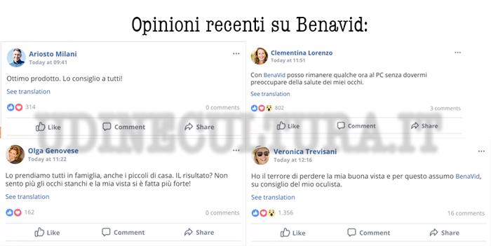Opinioni e pareri su Benavid
