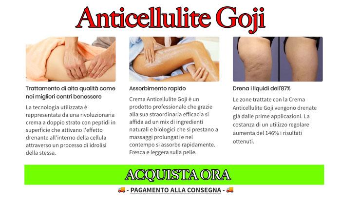 Anticellulite Goji recensione