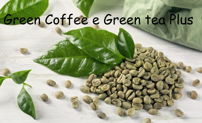 Ingredienti diGreen Coffee e Green tea Plus