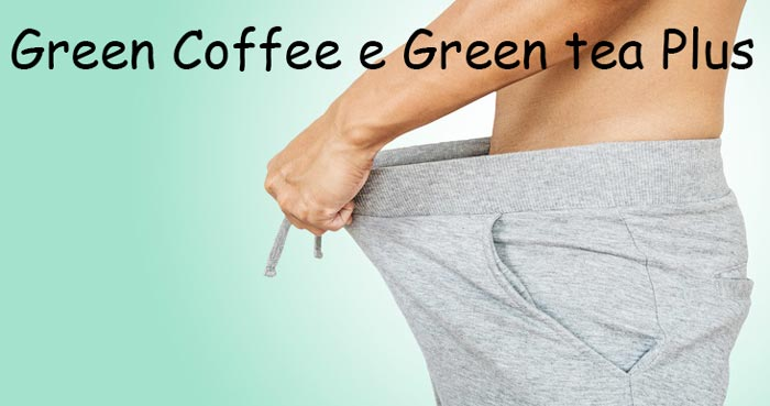 Integratore dimagrante Green Coffee e Green tea Plus