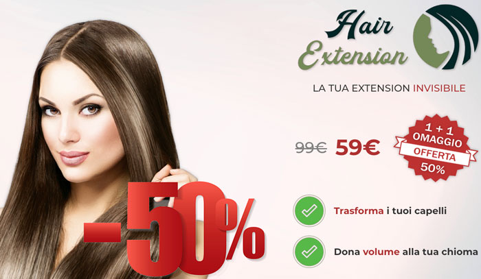 Prezzo di Hair Extension