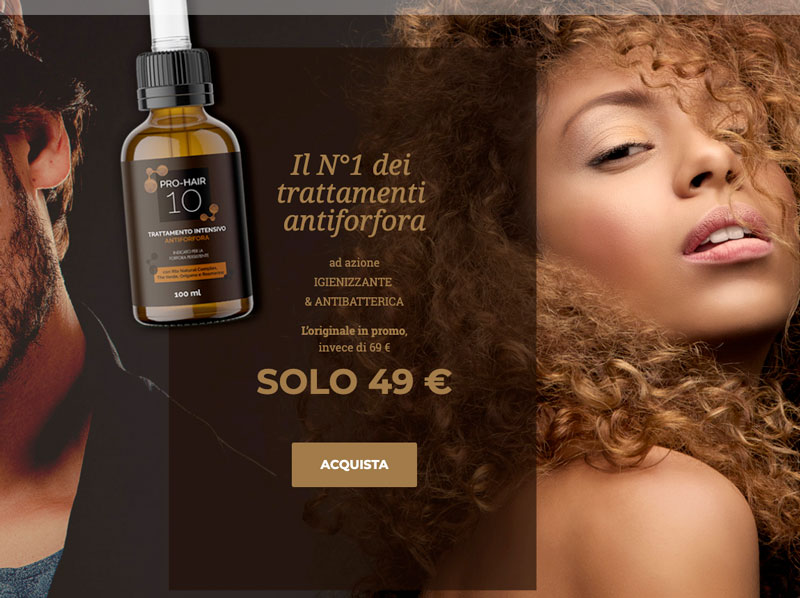 Prezzo di Pro Hair 10