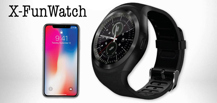 X-FunWatch smartwatch multifunzione
