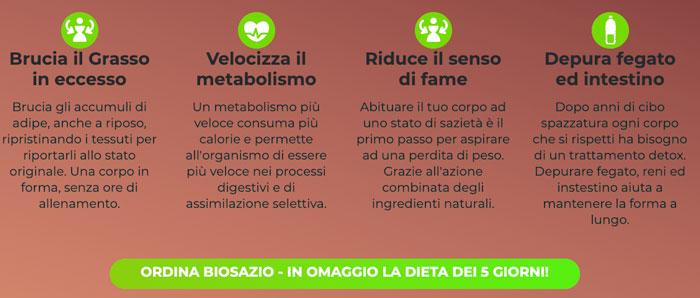 Come funziona Biosazio