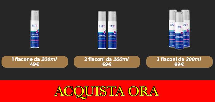 Prezzo della crema Elastix