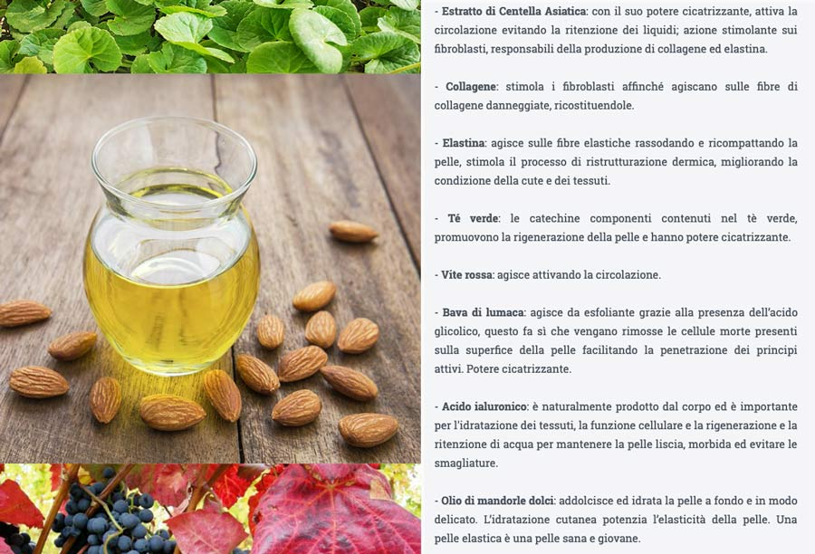 Ingredienti di elastix