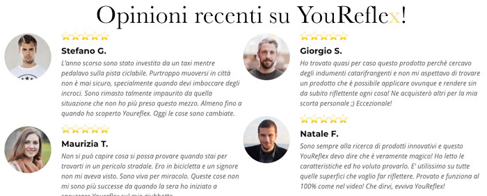 Opinioni su YouReflex Spray