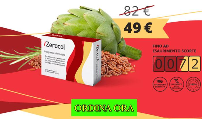 Costo di Zerocol integratore per il colesterolo