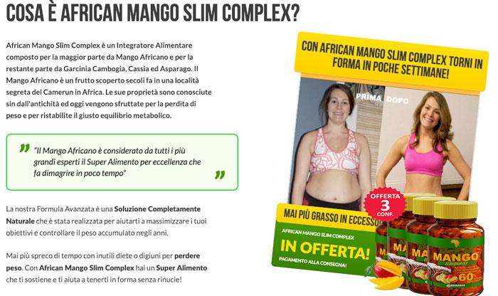 Recensione di African mANGO sLIM complex
