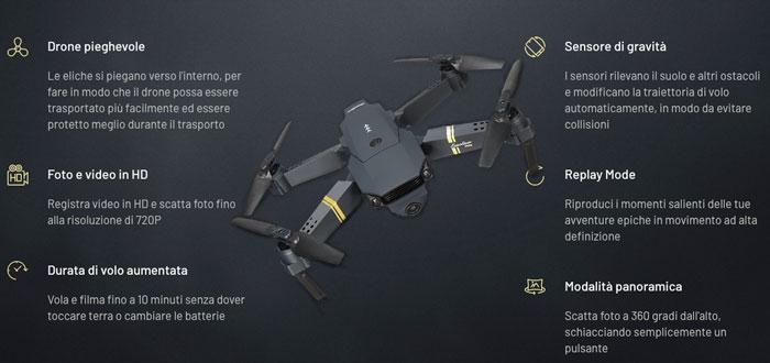 Caratteristiche di Xtactical Drone