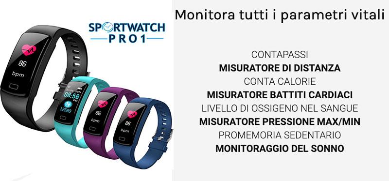 Funzioni di Sportwatch Pro1