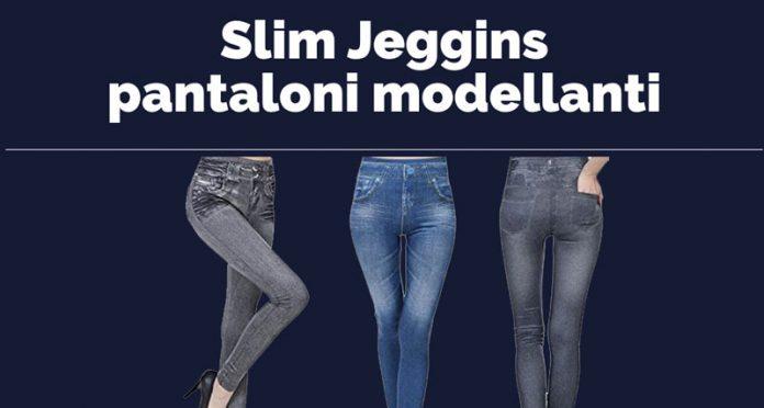 Slim Jeggins pantaloni mosellanti
