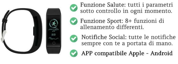 Caratteristiche di Sportwatch Plus