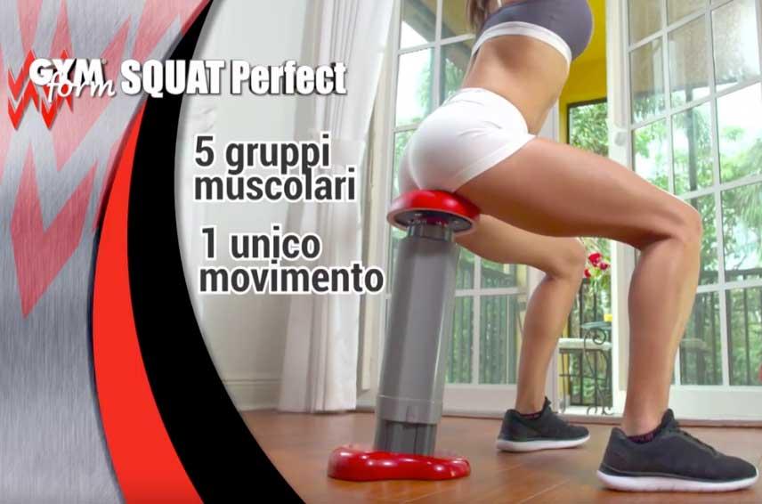 Gymform Squat Perfect opinioni