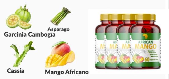 Gli ingredienti di African Mango