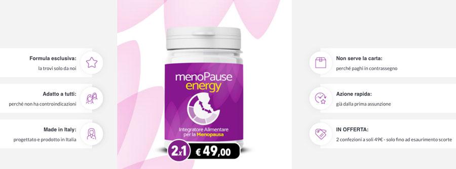 Come funziona Menopause Energy