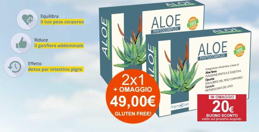 Aloe Phytocomplex integratore dimagrante