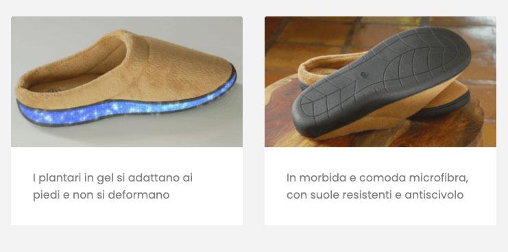 come funzionano le Stepluxe Slippers