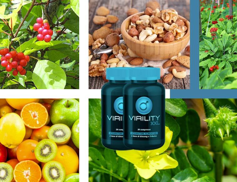 Ingredienti di Virility XXL