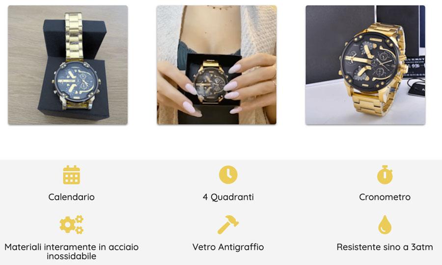 caratteristiche di Golden Watch