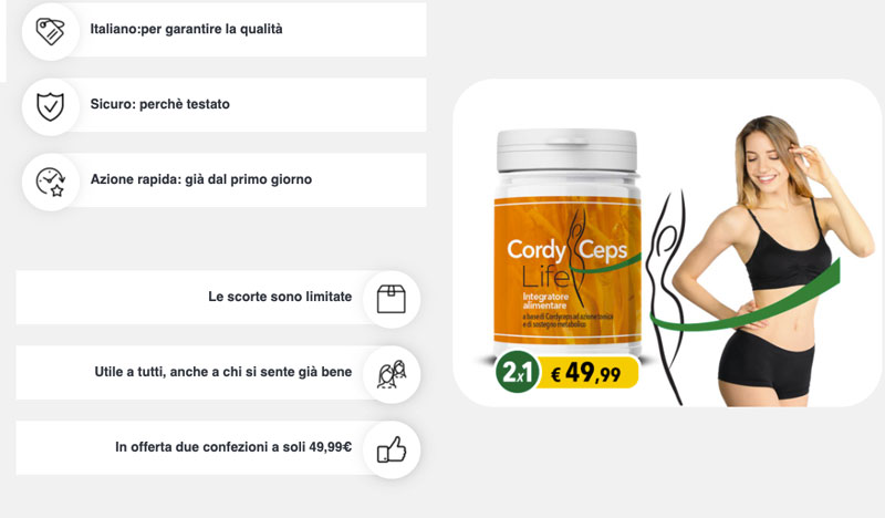 Come funziona Cordyceps Life