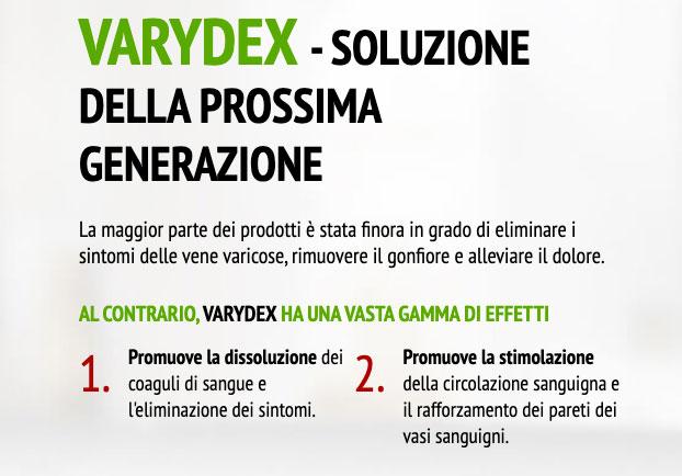Come funziona la crema Varydex