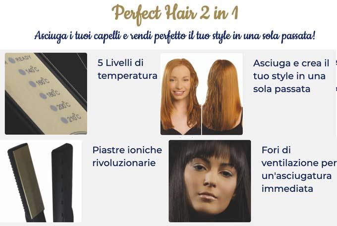 Caratteristiche tecniche di Perfect Hair 2in1