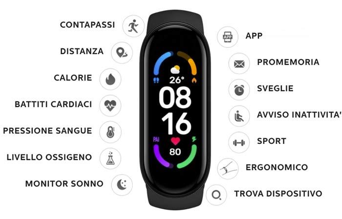 Caratteristiche dello smartwatch 6 Compact Watch